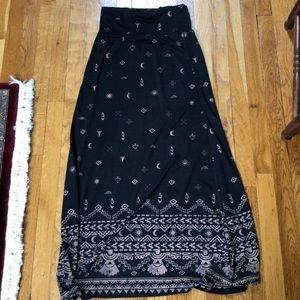 Mossimo Fold Over Tribal Print Skirt